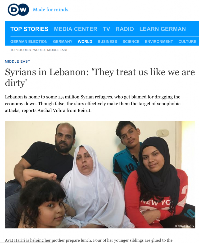 http://www.dw.com/en/syrians-in-lebanon-they-treat-us-like-we-are-dirty/a-39065640